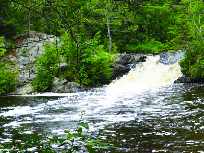 Twelve Foot Falls Campground - Marinette County Park