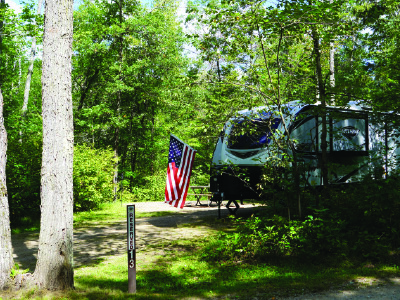 Morgan Campground - Marinette County Park
